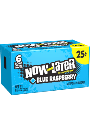Now and Later Original Blue Raspberry Candy