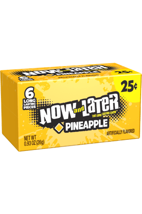 Now and Later Candy Original Pineapple