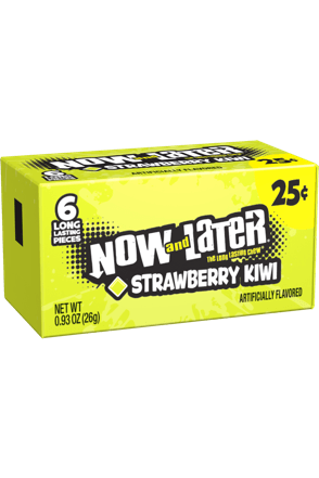 Now and Later Candy Original Strawberry Kiwi