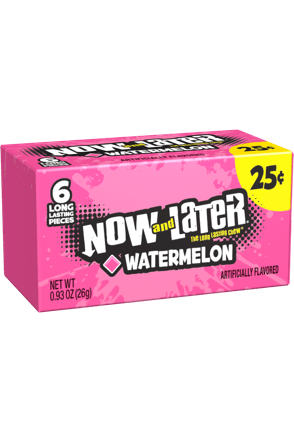 Now and Later Candy Original Watermelon