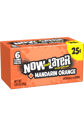 Now and Later Candy Original Mandarin Orange