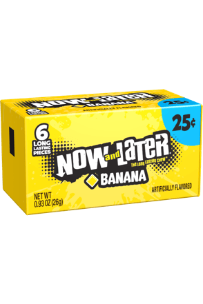 Now and Later Original Banana Candy