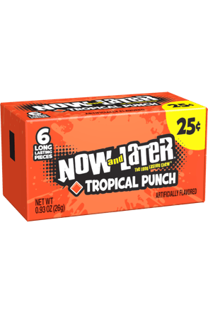Now and Later Candy Original Tropical Punch