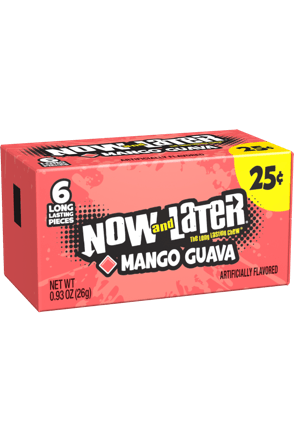 Now and Later Candy Original Mango Guava