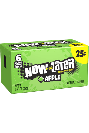 Now and Later Original Apple Candy