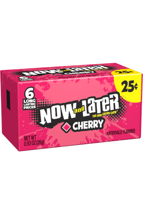 Now and Later Original Cherry Candy