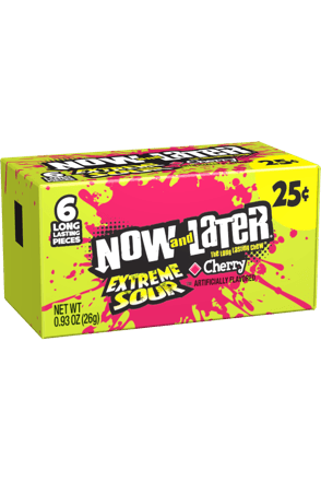 Now and Later Extreme Sour Cherry
