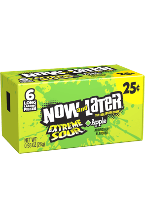 Now and Later Extreme Sour Apple