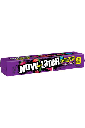 Now and Later Berry Smash Chewy Candy
