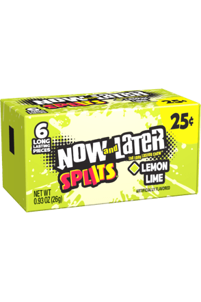 Lemon Lime Splits Now and Later Candy