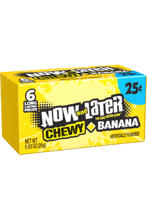 Now and Later Banana Chewy
