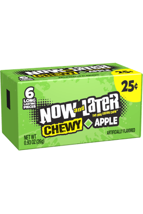 Now and Later Apple Chewy