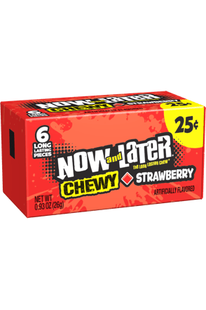 Now and Later Strawberry Chewy Candy
