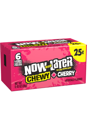 Now and Later Cherry Chewy Candy