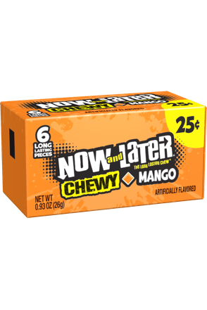 Now and Later Mango Chewy Candy
